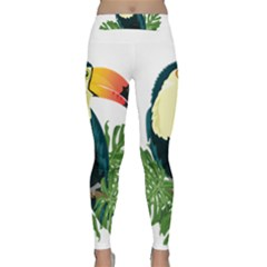 Tropical Birds Classic Yoga Leggings