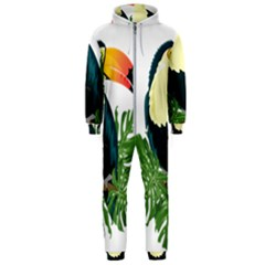 Tropical Birds Hooded Jumpsuit (men)