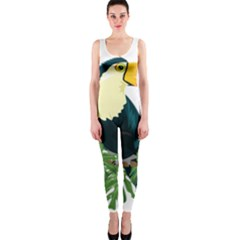 Tropical Birds One Piece Catsuit