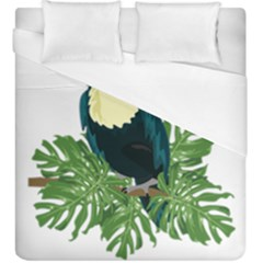 Tropical Birds Duvet Cover (king Size)