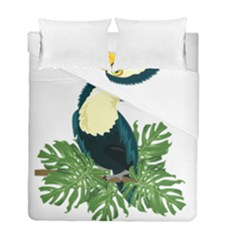 Tropical Birds Duvet Cover Double Side (full/ Double Size)