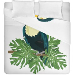 Tropical Birds Duvet Cover Double Side (king Size)