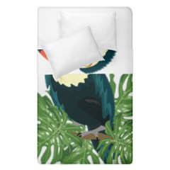Tropical Birds Duvet Cover Double Side (single Size)