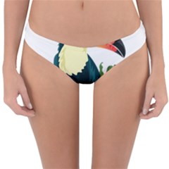 Tropical Birds Reversible Hipster Bikini Bottoms