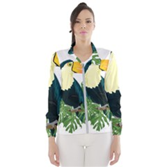 Tropical Birds Windbreaker (women)