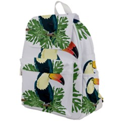 Tropical Birds Top Flap Backpack