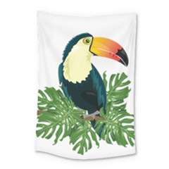 Tropical Birds Small Tapestry