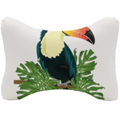 Tropical Birds Seat Head Rest Cushion