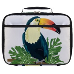 Tropical Birds Full Print Lunch Bag
