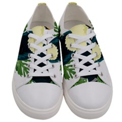 Tropical Birds Women s Low Top Canvas Sneakers