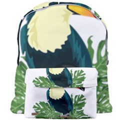 Tropical Birds Giant Full Print Backpack
