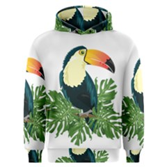 Tropical Birds Men s Overhead Hoodie