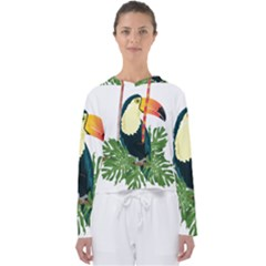Tropical Birds Women s Slouchy Sweat