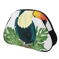 Tropical Birds Full Print Accessory Pouch (small)