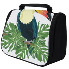 Tropical Birds Full Print Travel Pouch (big)
