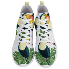 Tropical Birds Men s Lightweight High Top Sneakers
