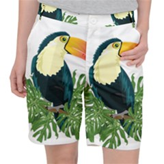 Tropical Birds Pocket Shorts