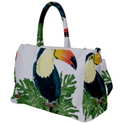 Tropical Birds Duffel Travel Bag
