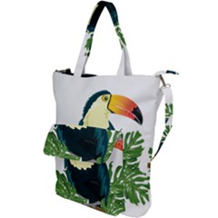 Tropical Birds Shoulder Tote Bag