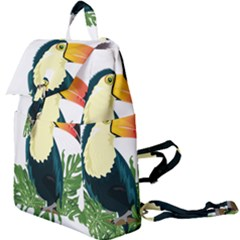Tropical Birds Buckle Everyday Backpack