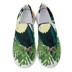 Tropical Birds Women s Slip On Sneakers