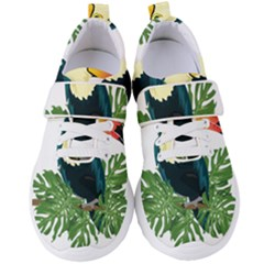 Tropical Birds Women s Velcro Strap Shoes