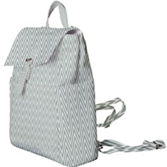 Vintage Pattern Chevron Buckle Everyday Backpack