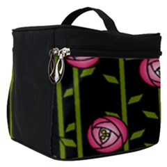 Rose Abstract Rose Garden Make Up Travel Bag (small)