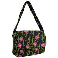 Rose Abstract Rose Garden Courier Bag