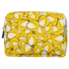 Pattern Background Corn Kernels Make Up Pouch (medium)