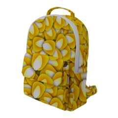 Pattern Background Corn Kernels Flap Pocket Backpack (large)