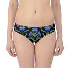 Pattern Thistle Structure Texture Hipster Bikini Bottoms