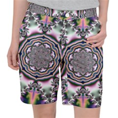 Pattern Abstract Background Art Pocket Shorts