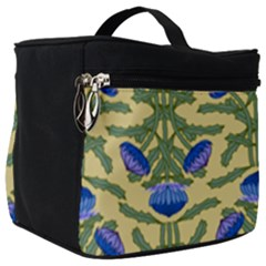 Pattern Thistle Structure Texture Make Up Travel Bag (big)
