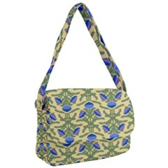 Pattern Thistle Structure Texture Courier Bag