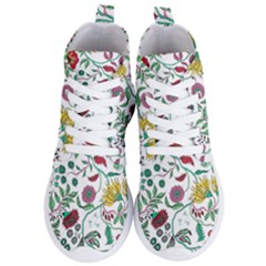 Flowers Garden Tropical Plant Women s Lightweight High Top Sneakers by Pakrebo