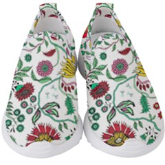 Flowers Garden Tropical Plant Kids  Slip On Sneakers