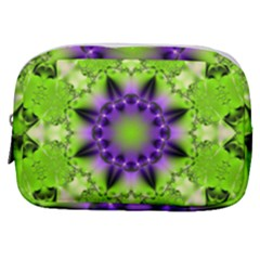 Pattern Abstract Background Art Green Make Up Pouch (small)