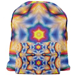 Pattern Abstract Background Art Giant Full Print Backpack