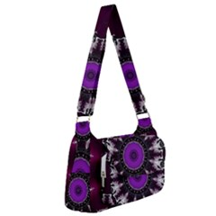 Kaleidoscope Round Circle Geometry Post Office Delivery Bag