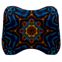 Pattern Abstract Background Art Velour Head Support Cushion