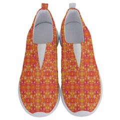Desktop Pattern Abstract Orange No Lace Lightweight Shoes