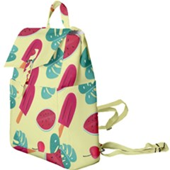 Watermelon Leaves Strawberry Buckle Everyday Backpack by Pakrebo