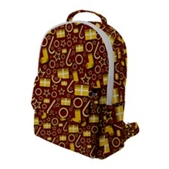 Paper Tissue Wrapping Flap Pocket Backpack (large)
