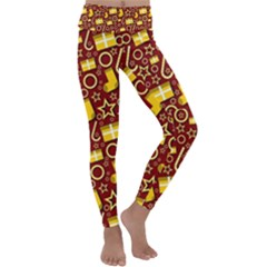 Paper Tissue Wrapping Kids  Lightweight Velour Classic Yoga Leggings