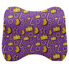 Paper Tissue Wrapping Velour Head Support Cushion