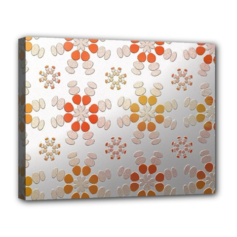 Wallpaper Pattern Abstract Canvas 14  X 11  (stretched)
