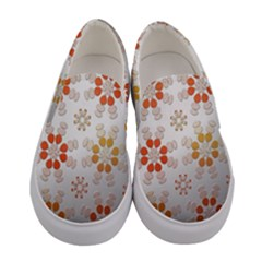 Wallpaper Pattern Abstract Women s Canvas Slip Ons