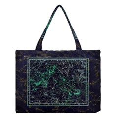 Constellation Constellation Map Medium Tote Bag