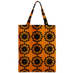 Desktop Abstract Template Flower Zipper Classic Tote Bag